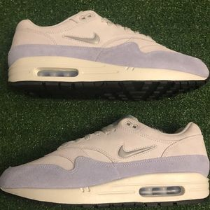 NEW x2 Nike Air Max One Pure Platinum/Ice Blue